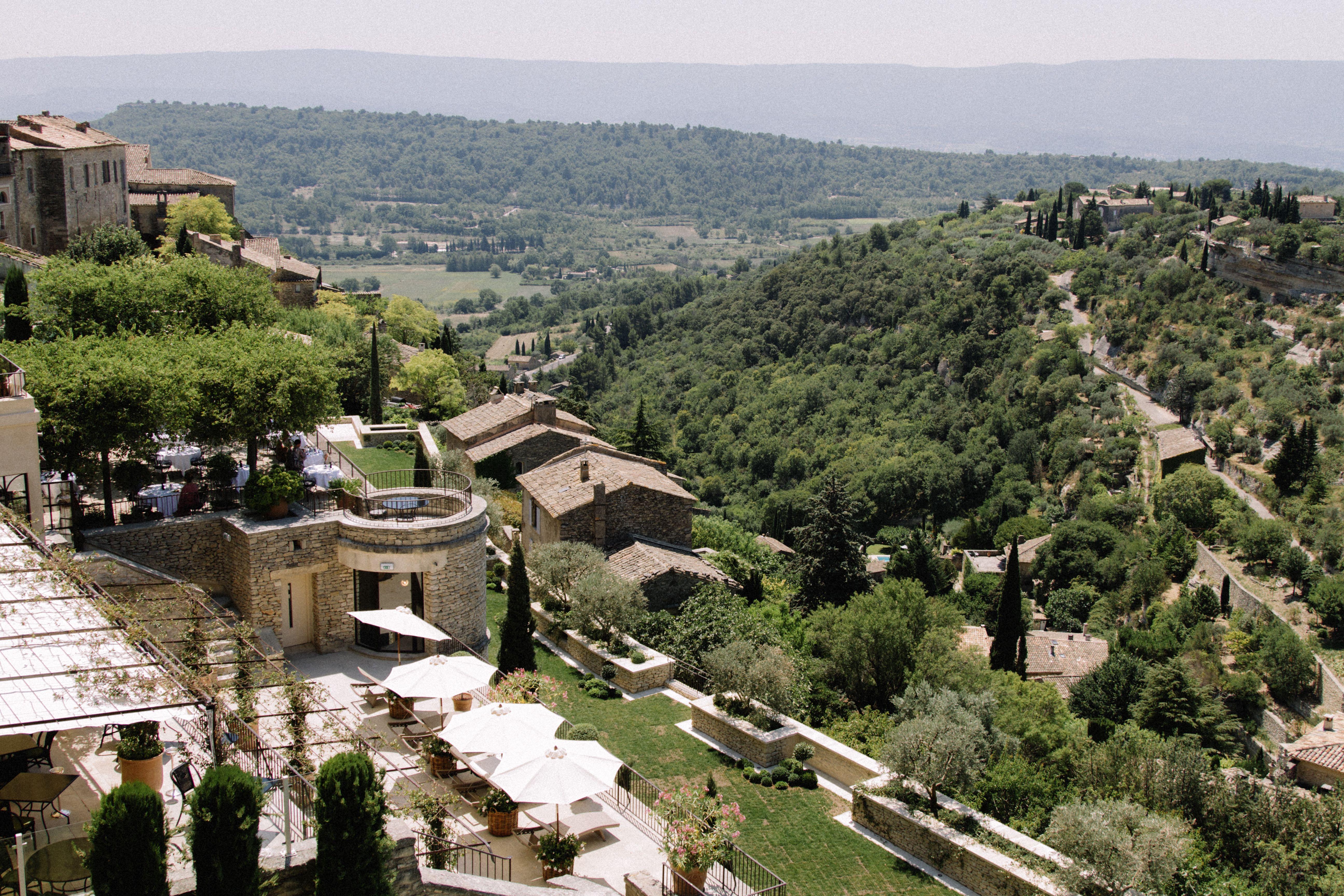 vue bastide de gordes - Bastide Mariage Aix En Provence