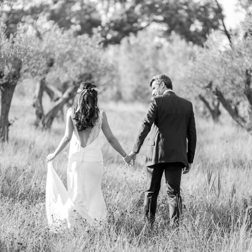 a provence wedding day