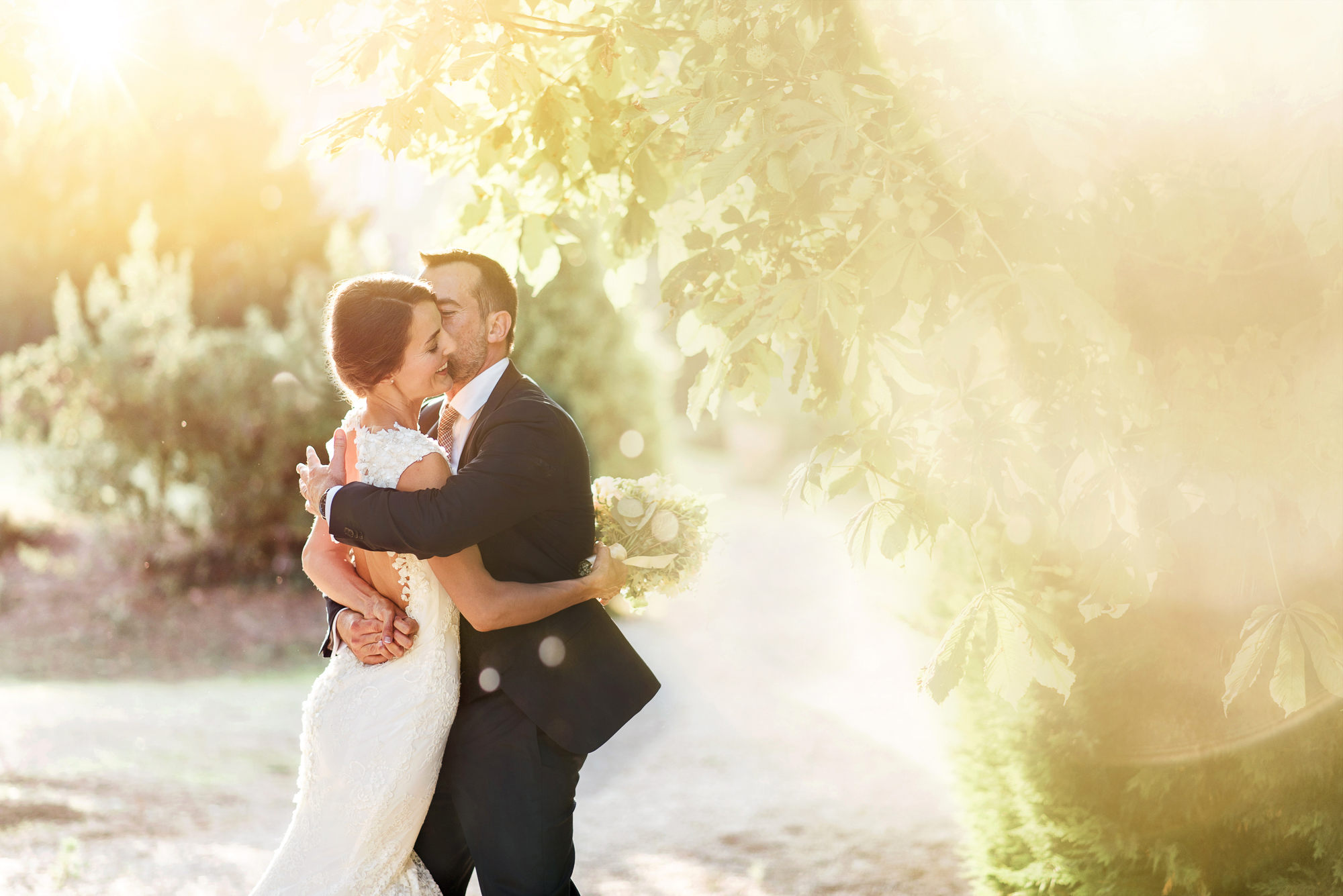mariés sous le soleil du sud de la France