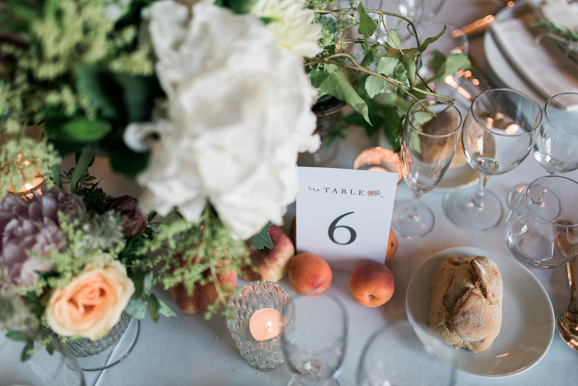 nom de table