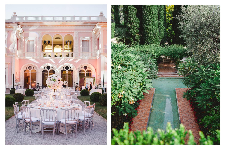 Villa Rothschild mariage diptyque